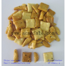 Popular mixed Japanese grain snack rice crackers for supermarket