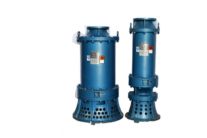 built-in suction submersible pump