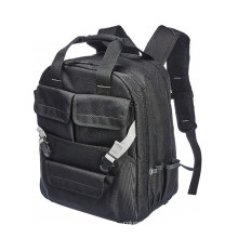 Mulitfuction Black Electrician Heavy Duty Tool Storage Back Pack Backpack Tool Bag