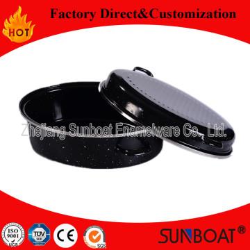 Sunboat Enamel Oval Roaster/Cookware/ Kitchenware