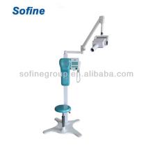 Высокоэффективный стоматологический рентгеновский аппарат, стоматологический рентгеновский аппарат, передвижной тип с рентгеноскопом CE