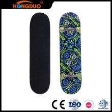 Latest technology mini longboard skateboard with big four wheels