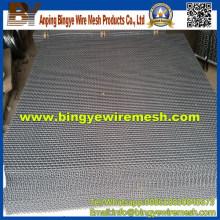 304 316 Malha de arame comprimido em material de construção de metais