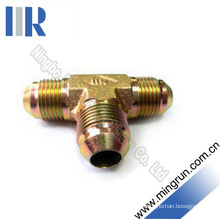 Jic Male 74 Cone Tee Adapter Hydraulic Tube Fitting (AJ)