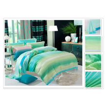 40 * 40s 133 * 72 реактивная печать Чистое роскошное постельное белье Tencel