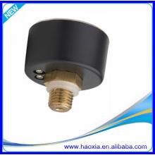 40mm pneumatisches Luftdruckmessgerät mit schwarzem Stahlgehäuse