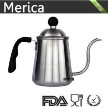 900ml de aço inoxidável Despeje sobre chaleira de café
