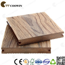 Free Sample Composite Wood Decking Fireproof Outdoor Original Wood Color Wood Plastic Composite Decking