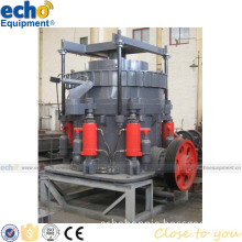 hydraulic stone cone crusher for crushing aggregate in mobile crusher equipment plant