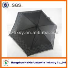 Großhandel klassische Polyester 3 hochklappen Minitasche Regen Regenschirm