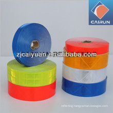 Crystal lattice reflective tape banding