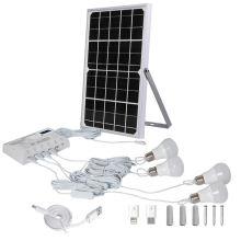 Panneaux solaires pour lampe d'alimentation du système domestique