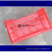 Heavy Duty Rectangular Stackable Dairy Milk Crates Mold