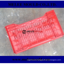 Heavy Duty Rectangular Stackable Dairy Milk Crates Mould