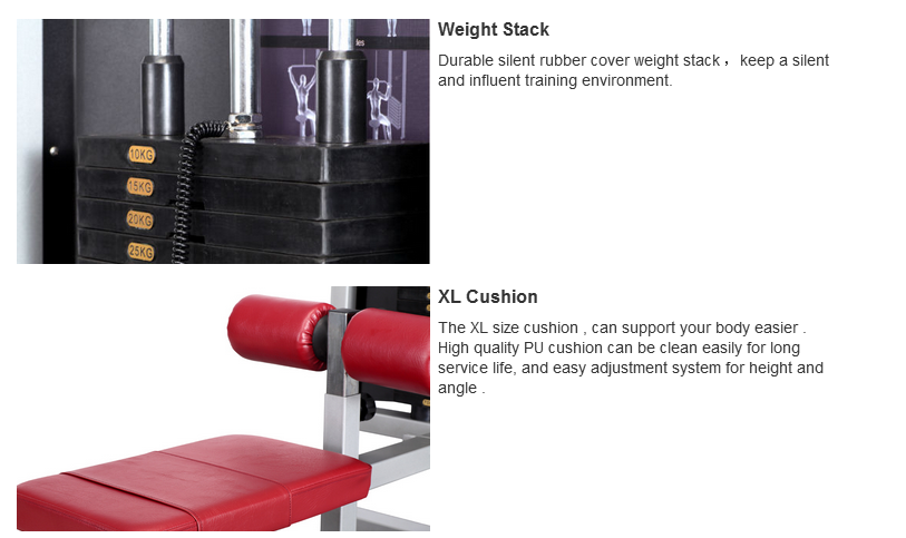 Fitness Equipment Prone Leg Curl