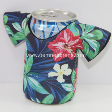 High Quality Waterproof T-shirt Neoprene Beer Can Coolers