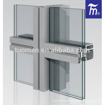 Top quality aluminium profile for curtain wall