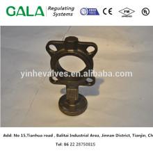Отливка металла OEM верхнего качества Крышка клапана бабочки отливки утюга для газа