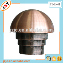 Fancy Design flexibler Metall Vorhang Stange Stange Vorhang Finial
