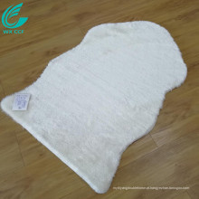 branco corredor pele de carneiro peludo área tapetes venda