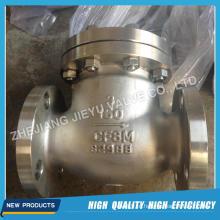 Válvula de retenção Swing de CF8m 150lb 3inch