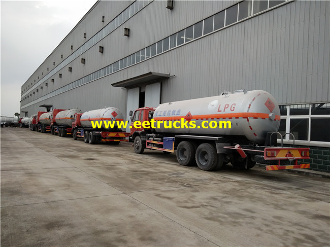 20000L LPG Delivery Tank Trucks