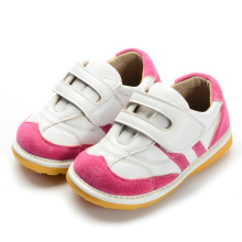 Sapatas Squeaky Baby Toddler Shoes