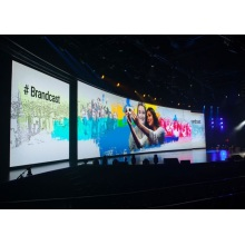 Fixed Full Colour Indoor Curved LED Display