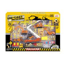 Ensemble de jeu de construction de jouets en métal moulé sous pression pour garçon (H2868060)
