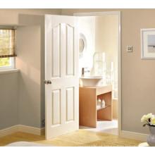 Productos calientes Blanco imprimado puerta de moldeo de madera