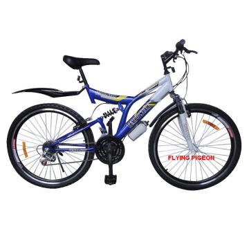 "Bicicleta de montaña con suspensión total de 26 ""(MTB-027)"