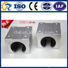 Hot sell linear sliding guide block bearing SBR16UU