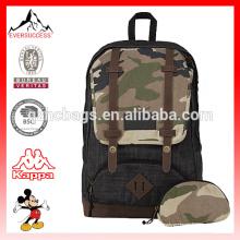 popular shoulder backpack jeans Denim bag