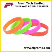 Atacado OEM Empresa Presentes Silicone Wristband