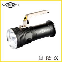 800m wiederaufladbare Taschenlampe High Power LED Taschenlampe (NK-855)