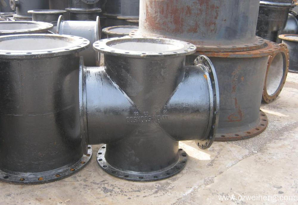 Steel Equal Cross Fittings, Wall Thickness