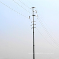 Multi Circuits Monopole Tower Power Transmission Pole