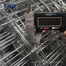 2,7 mm Rand Draht, 2,5 mm innerer Draht, 2,2 mm Knoten Draht festen Knoten Zaun Mesh für Hirsch Ziegenkuh