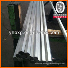 acier inoxydable hexagonal bar 304 316 L 317 L
