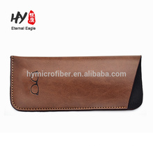 Bolso de cuero de tamaño pequeño con logotipo personalizado