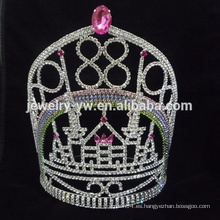 Princesa a granel rhinestone cristal belleza concurso de coronas y tiaras