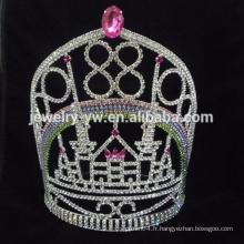Princesse princesse en cristal de strass en cristal de beauté couronnes et tiaras