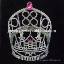 Princesa em granel rhinestone cristal beleza representação coroas e tiaras