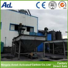 Carbono activado a base de madera utilizado para china fabricante de msg