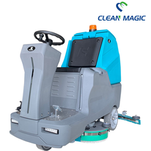 Cleaning equipment ride-on floor scrubber