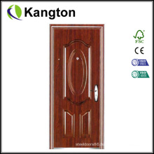 New Style Steel Security Door with Transfer-Printing (Steel security door)