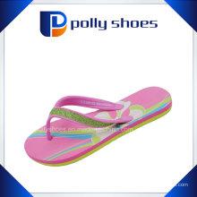 Chaussure en caoutchouc imprimée imprimée de haute qualité pour femmes