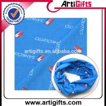 Promotion cheap polyester face bandana