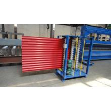 Bergelombang Arc Steel Sheet Roll Forming Machine