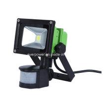 10W sensor recarregável luz de trabalho LED (F10B)